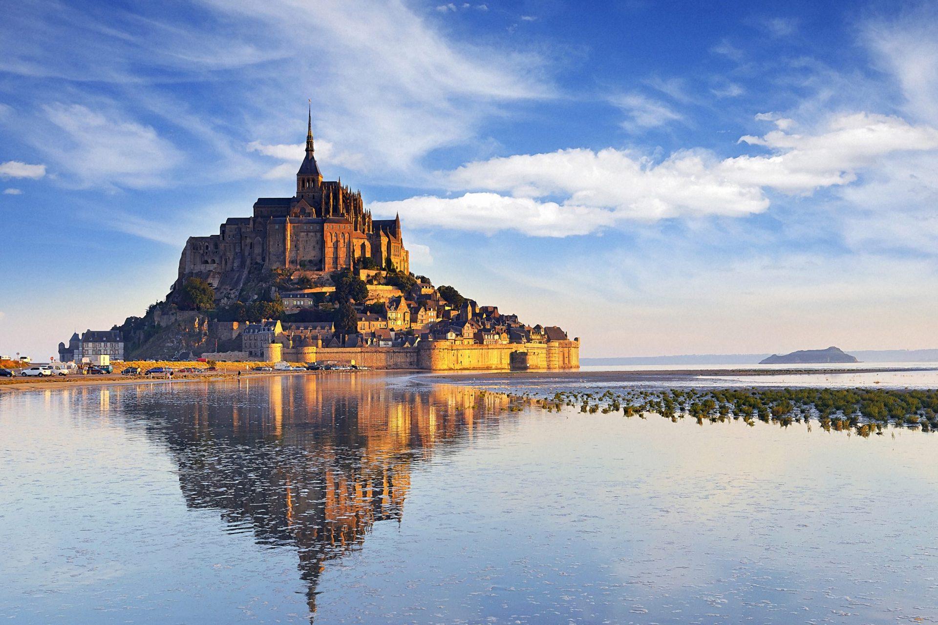 Mont St Michel Dawn