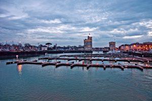 old port of La Rochelle city