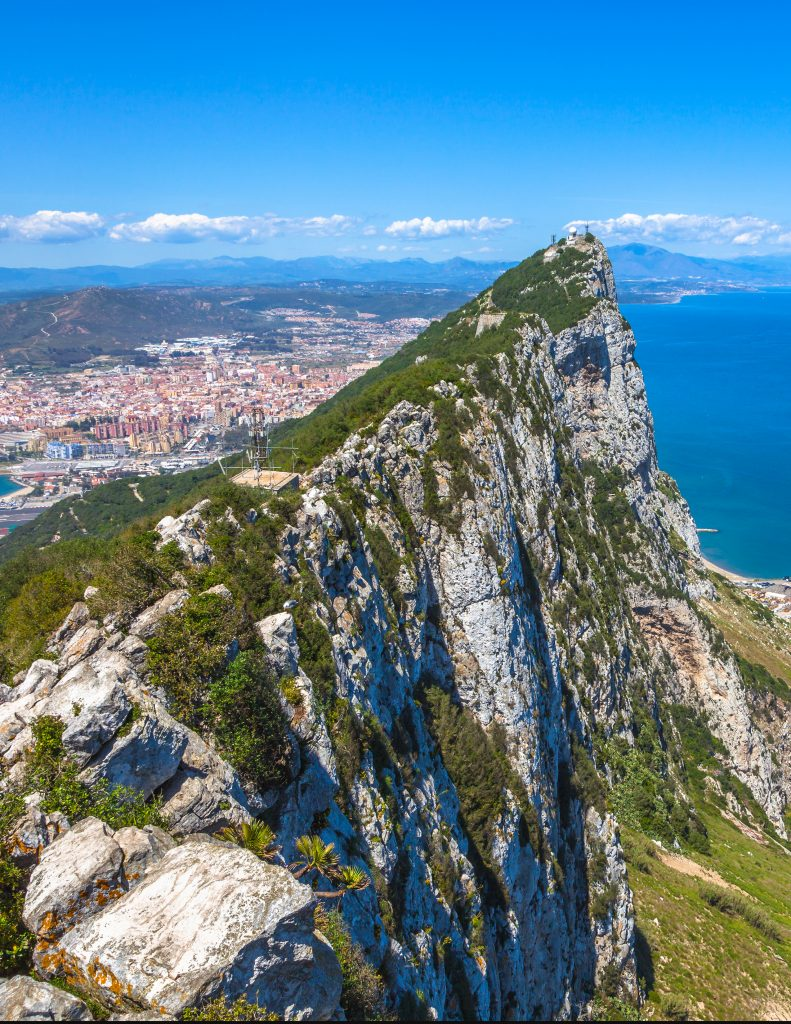 Gibraltar Top View