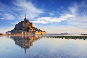 Mont St Michel at Dawn