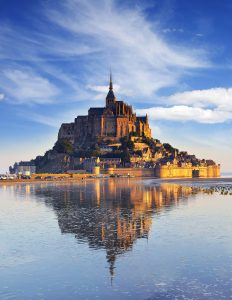 Mont St Michel Dawn
