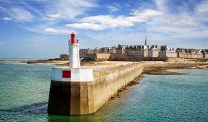 St Malo Lighthouse