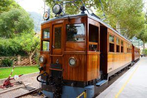 Orange Express Train