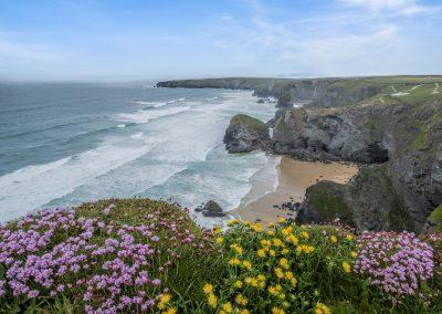 Bedruthan Steps Cornwall