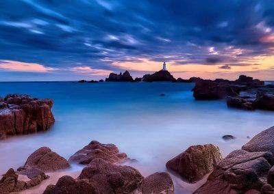 Corbiere Lighthouse, Jersey, Channel Islands