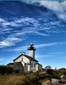 Pontusval, Brittany, the little lighthouse
