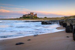Bamburgh medieval castle