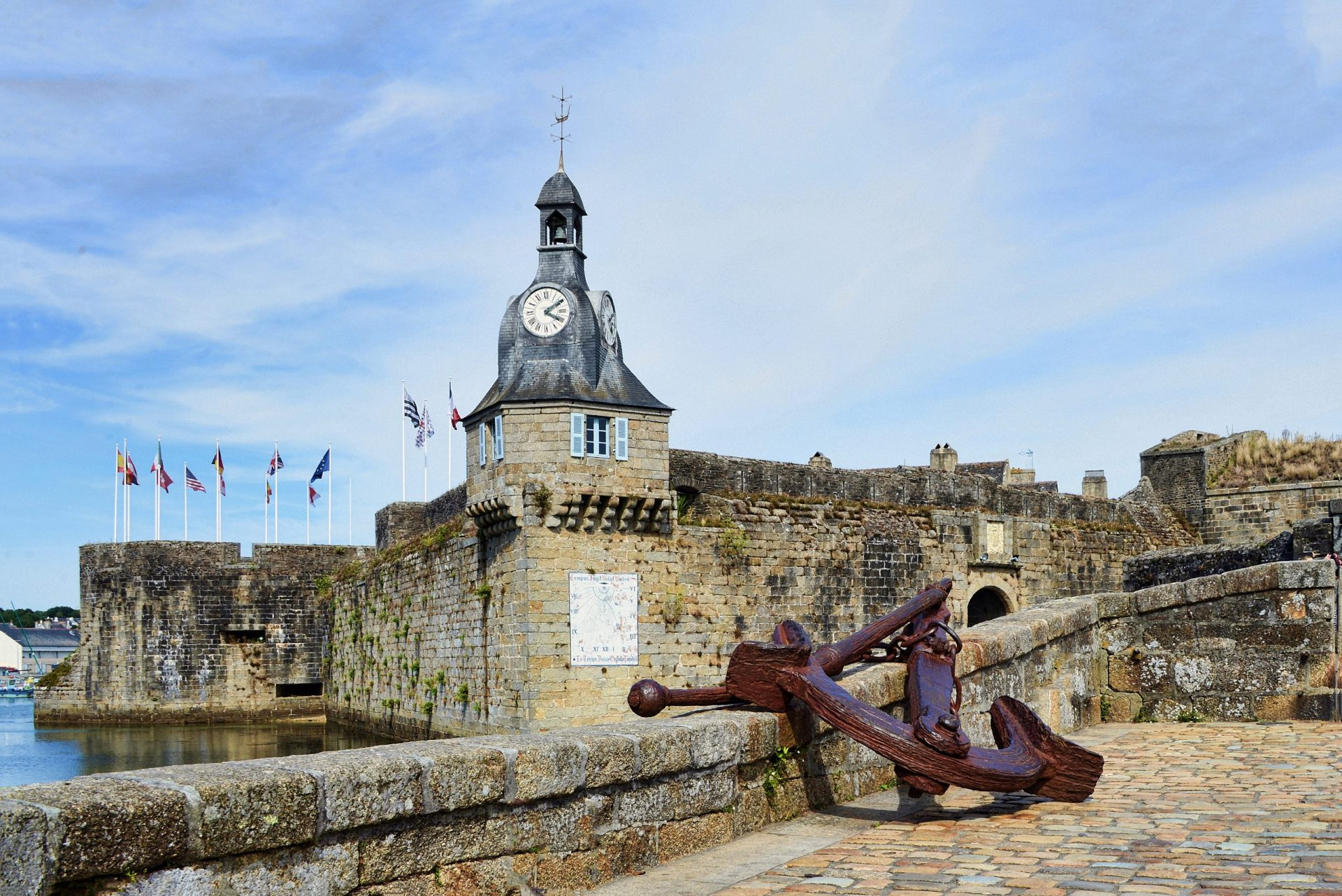 Concarneau City. Brittany