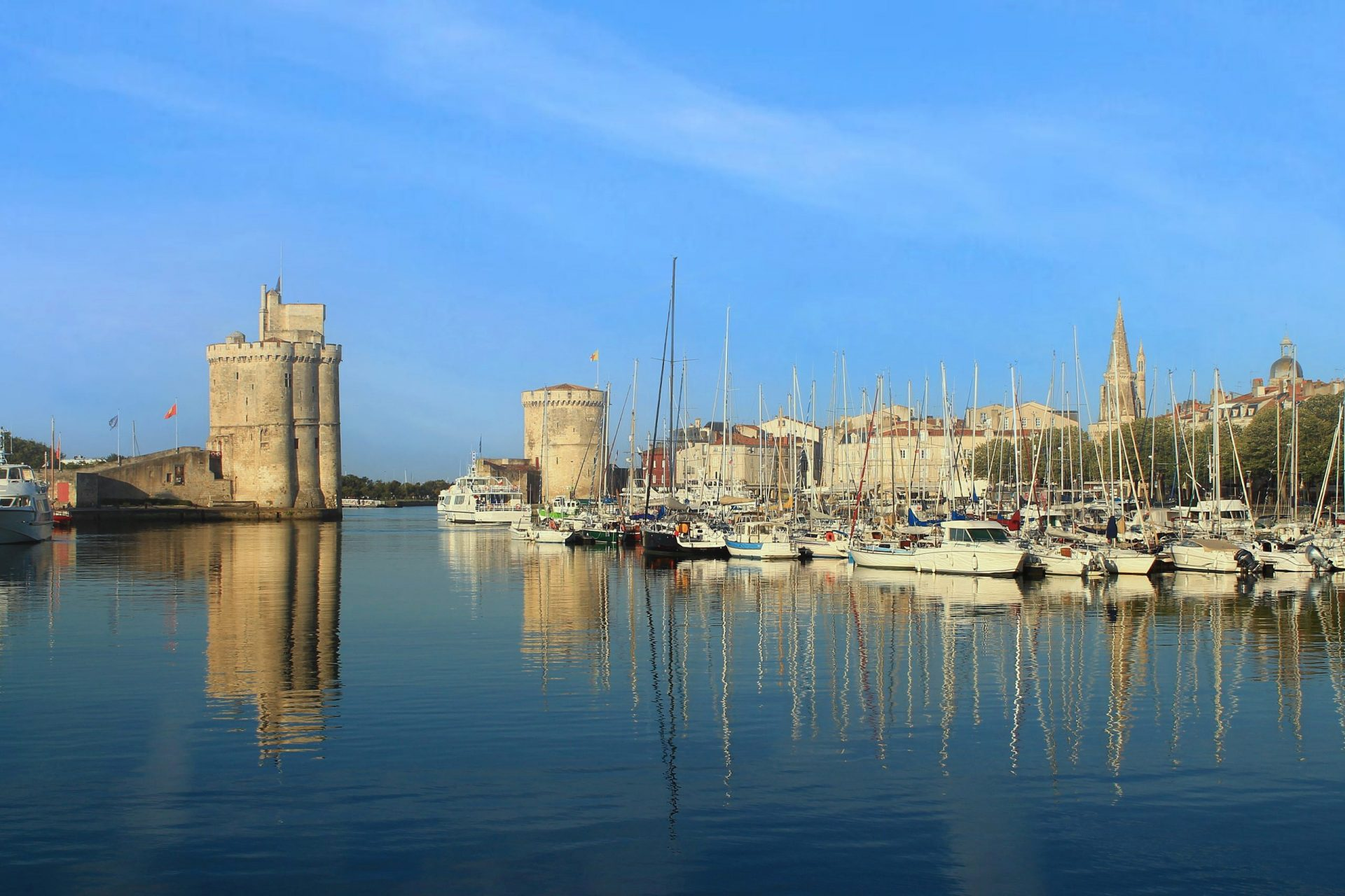La Rochelle, the French city and seaport located on the Bay of Biscay