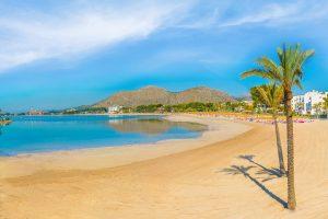 alcudia beach mallorca