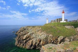 The Lighthouse of Saint Mathieu, Brittany, France