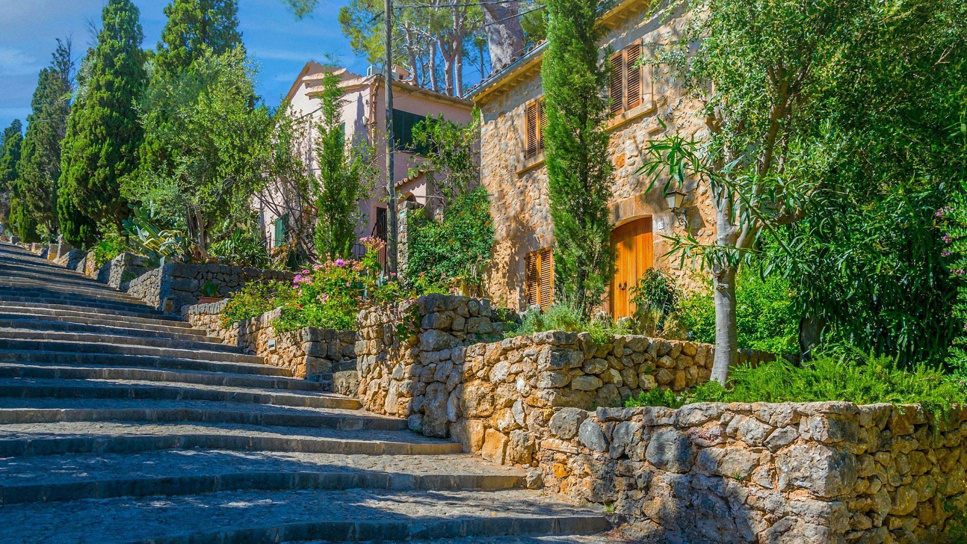 Calvari Steps, Pollenca