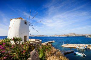 Parikia Town, Paros,Island, Cyclades, Greece